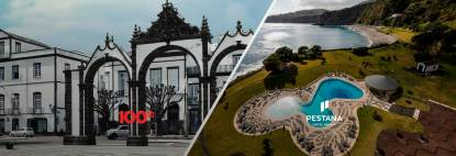 Today's destinations: Ponta Delgada and Funchal
